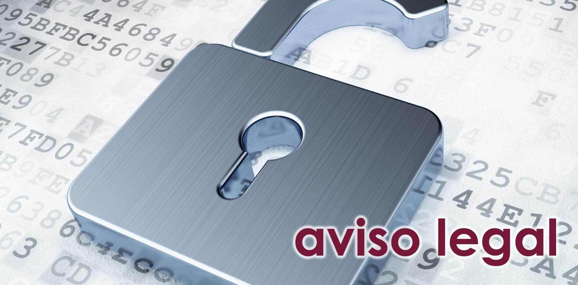 NEW WEB - Slide Aviso Legal