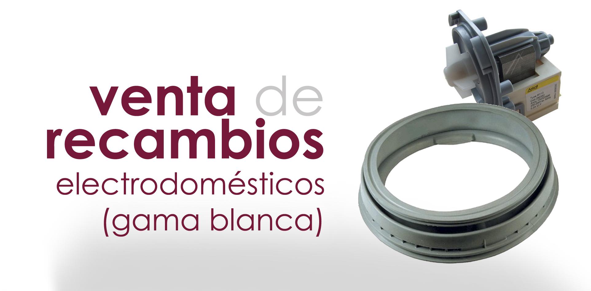 Venta recambios gama blanca a m servicio t cnico de - Recambios general electric ...