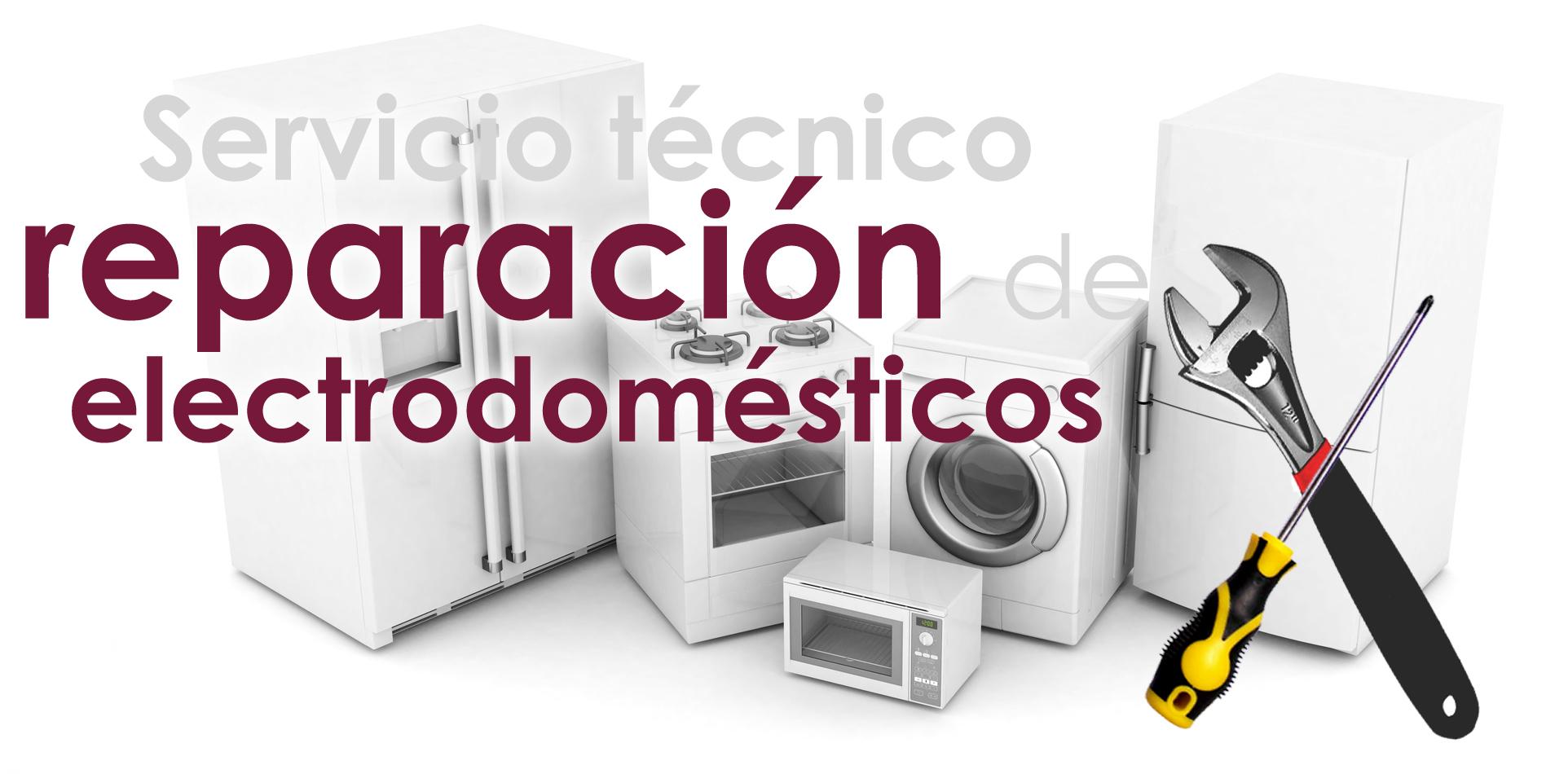 NEW WEB - Slide Servicio - Reparación Electrodomésticos